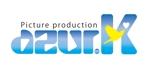 BANBANさんの映像制作会社「映像制作 azur.K」のロゴへの提案