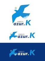 shishimaru440さんの映像制作会社「映像制作 azur.K」のロゴへの提案