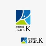 agnesさんの映像制作会社「映像制作 azur.K」のロゴへの提案