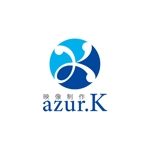 z-yanagiyaさんの映像制作会社「映像制作 azur.K」のロゴへの提案
