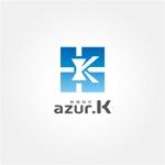 drkigawaさんの映像制作会社「映像制作 azur.K」のロゴへの提案