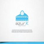 design-baseさんの映像制作会社「映像制作 azur.K」のロゴへの提案
