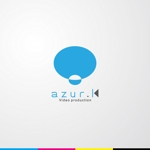iwwDESIGNさんの映像制作会社「映像制作 azur.K」のロゴへの提案