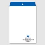 toshimoriさんの法律事務所の封筒デザインへの提案