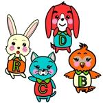 dreamriderさんの春日丘動物病院(犬、猫、うさぎ、小鳥)のキャラクターデザインへの提案