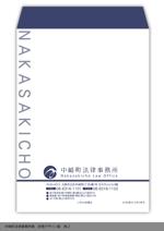 shimouraさんの法律事務所の封筒デザインへの提案
