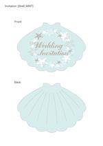 tsubyさんの結婚式招待状及び関連ペーパーアイテムのデザイン募集!女性デザイナー希望!複数案採用可能!への提案