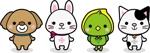 ruis110930さんの春日丘動物病院(犬、猫、うさぎ、小鳥)のキャラクターデザインへの提案