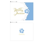 ajisaiafroさんの結婚式招待状及び関連ペーパーアイテムのデザイン募集!女性デザイナー希望!複数案採用可能!への提案