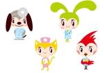 marukeiさんの春日丘動物病院(犬、猫、うさぎ、小鳥)のキャラクターデザインへの提案