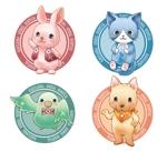 rabbitaさんの春日丘動物病院(犬、猫、うさぎ、小鳥)のキャラクターデザインへの提案