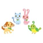 ARK_dEsignさんの春日丘動物病院(犬、猫、うさぎ、小鳥)のキャラクターデザインへの提案