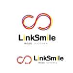 aofuneさんの「株式会社リンクスマイル」のロゴ作成への提案