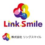 anponさんの「株式会社リンクスマイル」のロゴ作成への提案