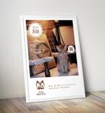 tomoniさんの猫カフェの店頭ポスターデザインへの提案