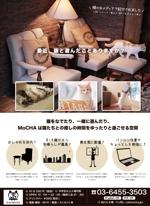 Umekoさんの猫カフェの店頭ポスターデザインへの提案