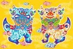 chiezo108さんの千代紙の柄デザイン依頼(沖縄風)【琉球千代紙】和紙印刷で使用への提案