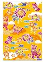 tsubu-rinさんの千代紙の柄デザイン依頼(沖縄風)【琉球千代紙】和紙印刷で使用への提案