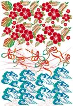 UNDYさんの千代紙の柄デザイン依頼(沖縄風)【琉球千代紙】和紙印刷で使用への提案