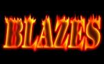 ThreeyzmonkeysさんのCLUBや飲食の事業を展開する「株式会社BLAZES」のロゴへの提案