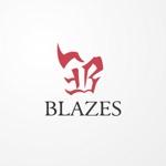 siraphさんのCLUBや飲食の事業を展開する「株式会社BLAZES」のロゴへの提案