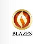katachidesignさんのCLUBや飲食の事業を展開する「株式会社BLAZES」のロゴへの提案