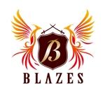 i-d-iizukaさんのCLUBや飲食の事業を展開する「株式会社BLAZES」のロゴへの提案