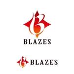 z-yanagiyaさんのCLUBや飲食の事業を展開する「株式会社BLAZES」のロゴへの提案
