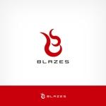 solographicsさんのCLUBや飲食の事業を展開する「株式会社BLAZES」のロゴへの提案