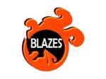 i-923さんのCLUBや飲食の事業を展開する「株式会社BLAZES」のロゴへの提案