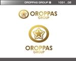 FISHERMANさんのOROPPAS GROUP ロゴへの提案