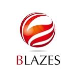 sun-lineさんのCLUBや飲食の事業を展開する「株式会社BLAZES」のロゴへの提案