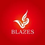 tikaさんのCLUBや飲食の事業を展開する「株式会社BLAZES」のロゴへの提案