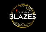 saiga005さんのCLUBや飲食の事業を展開する「株式会社BLAZES」のロゴへの提案