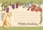 kukilemoさんの誕生日ギフトに同封するメッセージカードのデザイン【継続依頼あり】への提案