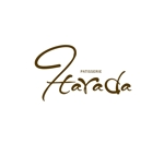 お菓子店「パティスリー原田 Patisserie Harada」のロゴへの提案