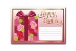 ktsuchiya05さんの誕生日ギフトに同封するメッセージカードのデザイン【継続依頼あり】への提案