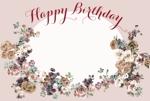 tsubyさんの誕生日ギフトに同封するメッセージカードのデザイン【継続依頼あり】への提案