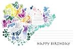yachiyo05さんの誕生日ギフトに同封するメッセージカードのデザイン【継続依頼あり】への提案