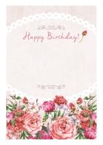 moka_designさんの誕生日ギフトに同封するメッセージカードのデザイン【継続依頼あり】への提案
