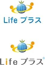 anji-designさんの「Lifeプラス」のロゴ作成への提案