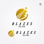 REVELAさんのCLUBや飲食の事業を展開する「株式会社BLAZES」のロゴへの提案