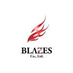 easelさんのCLUBや飲食の事業を展開する「株式会社BLAZES」のロゴへの提案