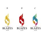 nakase_shinjiさんのCLUBや飲食の事業を展開する「株式会社BLAZES」のロゴへの提案