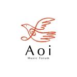 skyblueさんのアオイ楽器店のロゴへの提案
