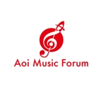 king_jさんのアオイ楽器店のロゴへの提案