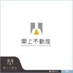 neomasuさんの不動産会社の物件サイト「関上不動産」のロゴ作成への提案