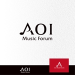 J-wonderさんのアオイ楽器店のロゴへの提案