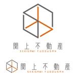 j-designさんの不動産会社の物件サイト「関上不動産」のロゴ作成への提案