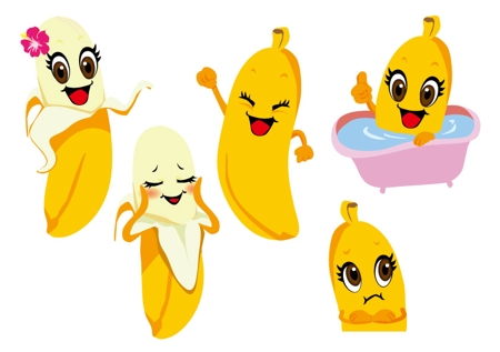 バナナ スリム